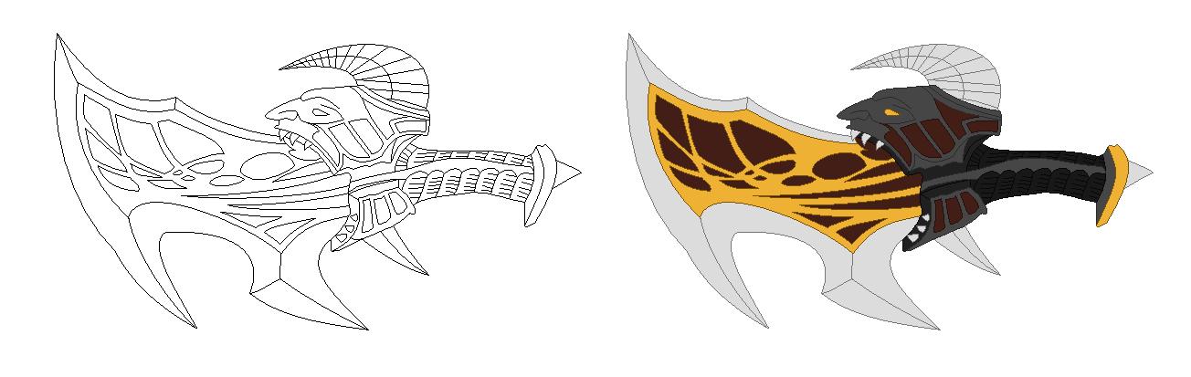 God Of War 3 Blades Of Exile Blades of Exile Line A...