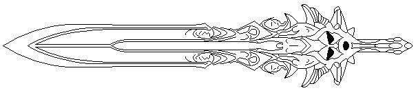 Blade of Olympus Line Art V.1