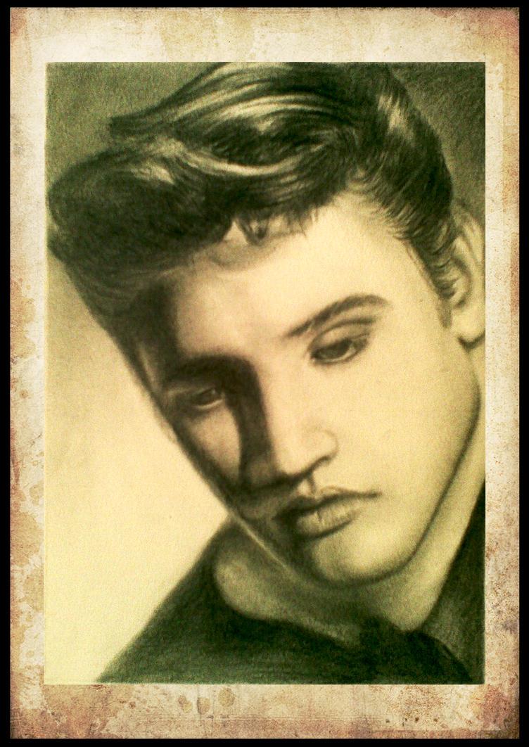 Elvis Presley by nikolaihoe27