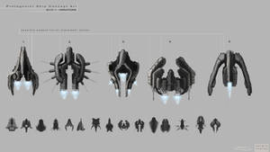 TopDown shooter ship concepts