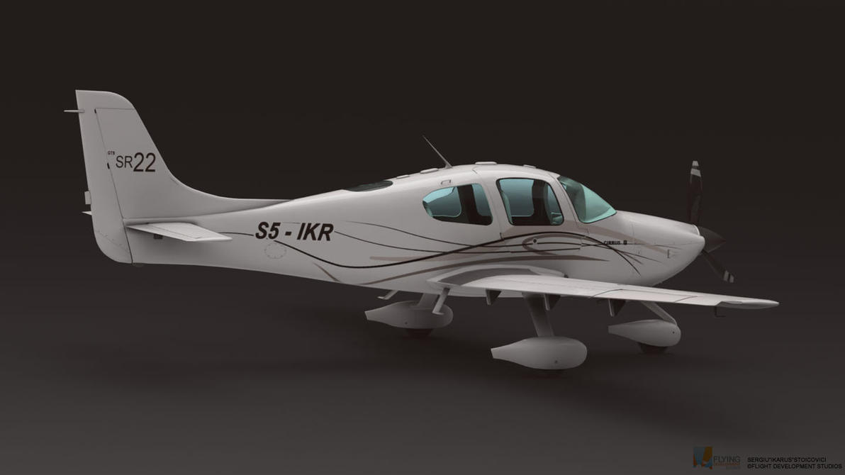 SR22 Cirrus 2 by ikarus-tm