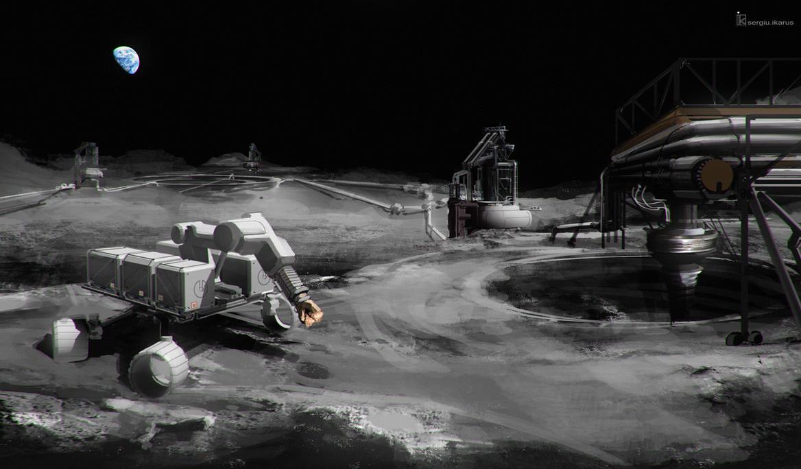 Moon Escavation Array by ikarus-tm