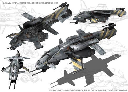 Sturm Class Gunship