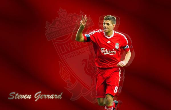 Steven Gerrard Wallpaper By Ry1220 On Deviantart