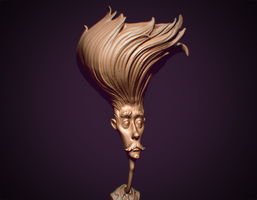 Mister Mophead - a sketch