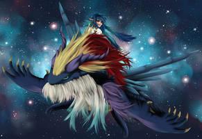 Dragon Rider by BaroqueBeat