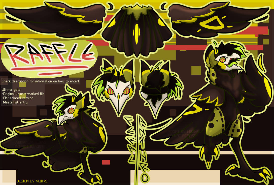 Toxic Poison | RAFFLE | OPEN until 31th of July