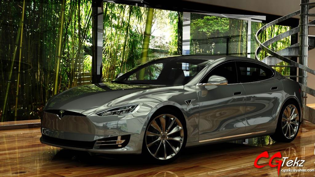 Pubg By Sodano On Deviantart: Tesla Model S 2017 By Saleel On DeviantArt