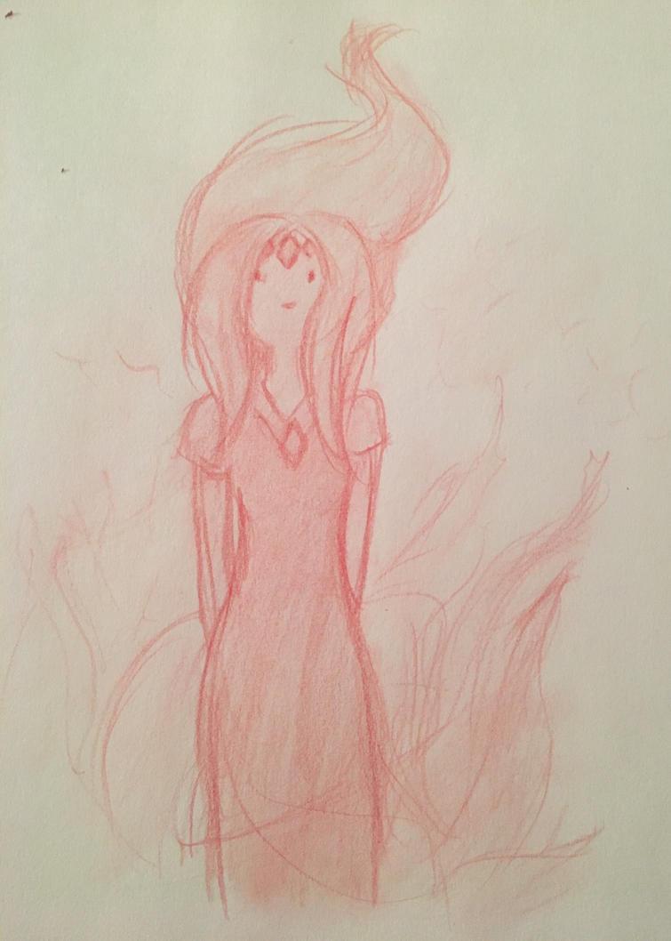 Flame princess  by AlxisTrampy
