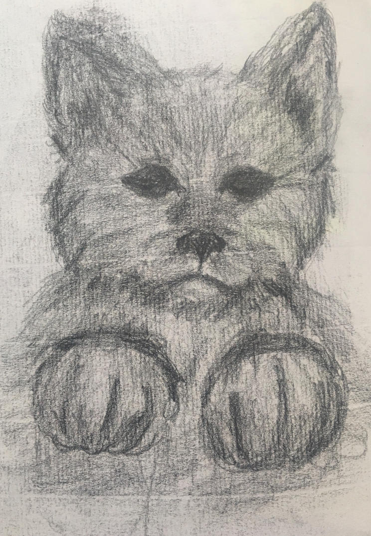 Wolf cub by AlxisTrampy