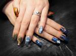 Gothic Fairytale Nail Art