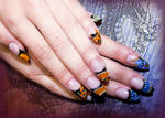 Battle of the Dragons Gel Nails
