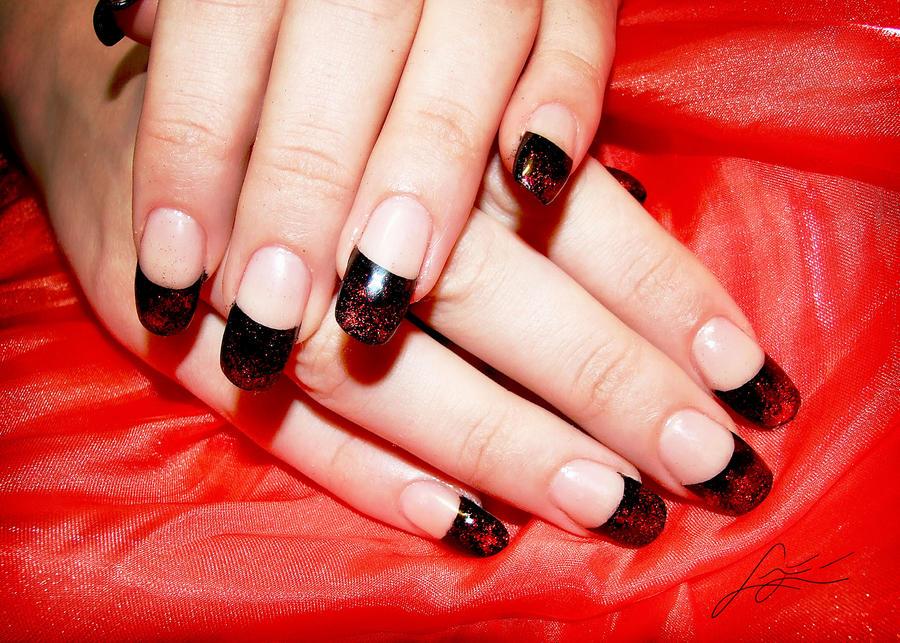 French manicure gel lack