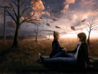 The Meadows of Fall by Undomiele