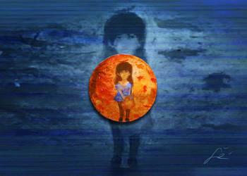 Girl of the Fall brooch by Undomiele