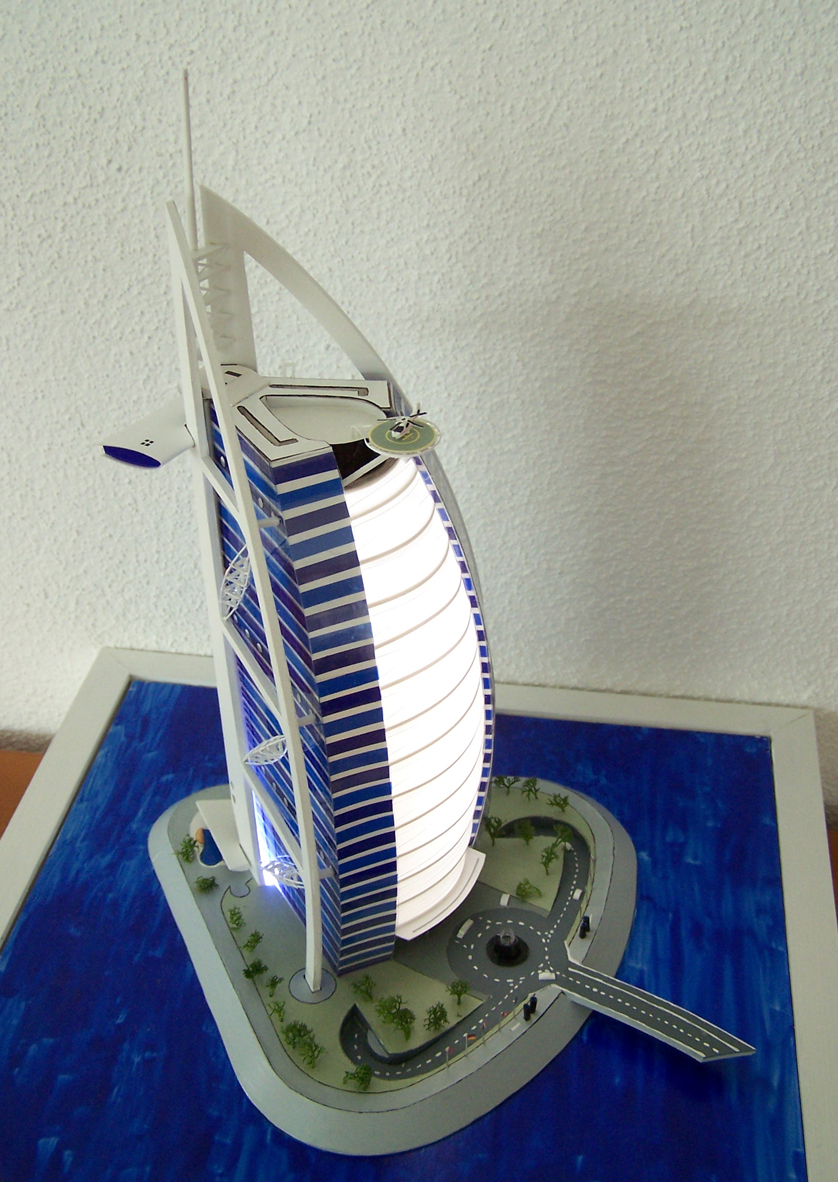 Burj Al Arab Scale Model 1 By Macwen On Deviantart