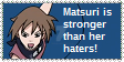 Matsuri is Stronger than her Haters by ShinanaEvangelian