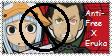 Anti-FreeXEruka Fan Stamp by ShinanaEvangelian