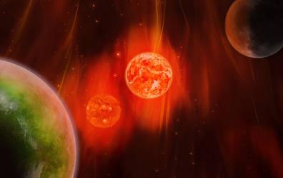 Space Alchemy Wallpaper by Minato999