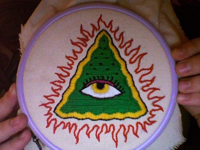Evil eye by PhotoBoothMassacre