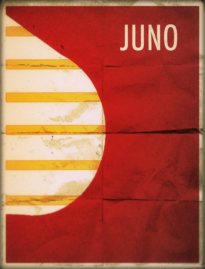 Juno - Minimalist Poster by theckboom