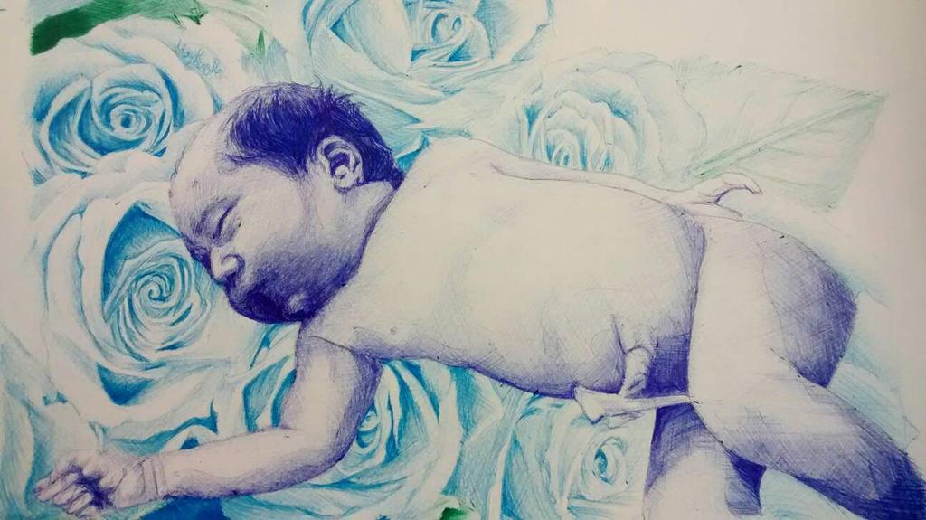 Beba Azul by moykas