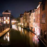 A night in Utrecht city by WouterPera