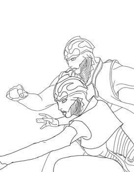Trillian and Sabrel