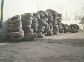 old tire 01 by Creamydigital