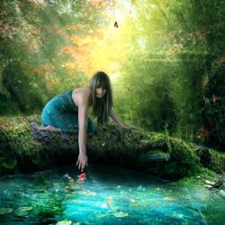 magic lake by Creamydigital