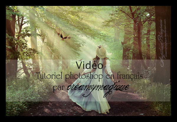 .:Tuto:. La promenade du printemps by Creamydigital