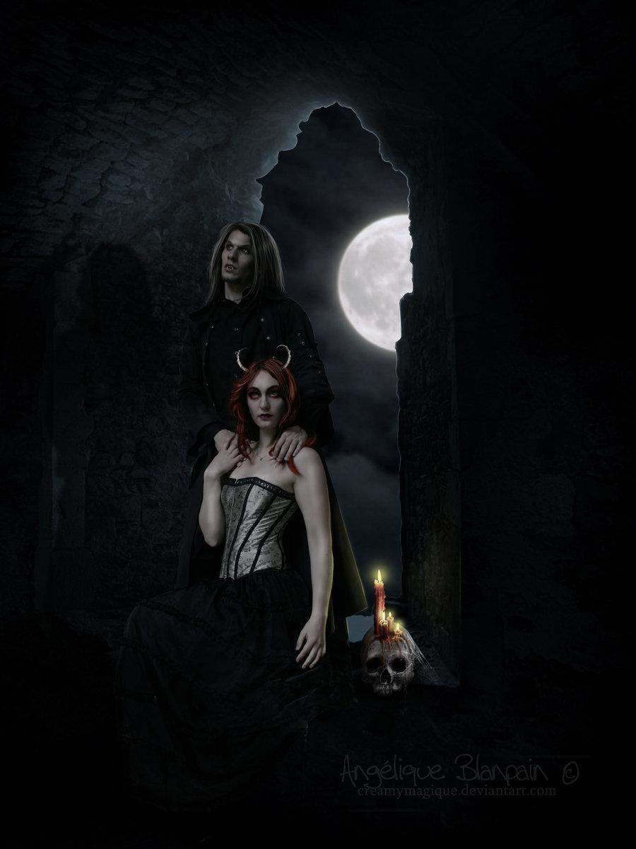 Dracula and Alouka by Creamydigital