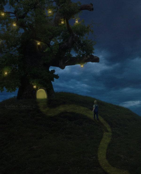 Tree Of Light by Creamydigital
