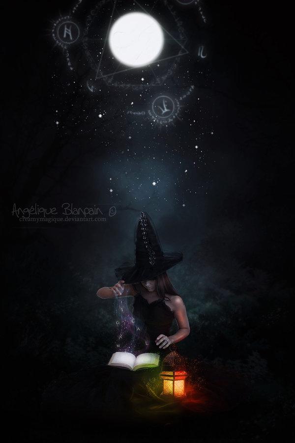 la sorciere d'halloween by Creamydigital