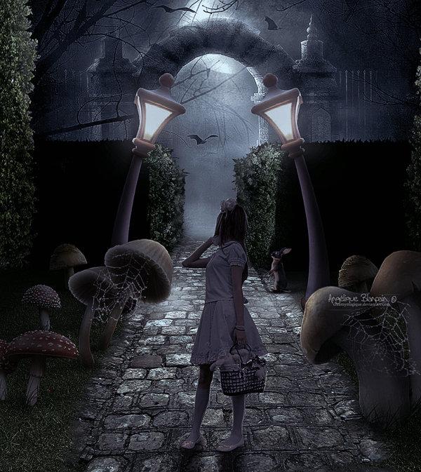 Alice returns II by Creamydigital