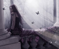 in the wind of my sadness by Creamydigital