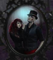 Gothic couple by Creamydigital