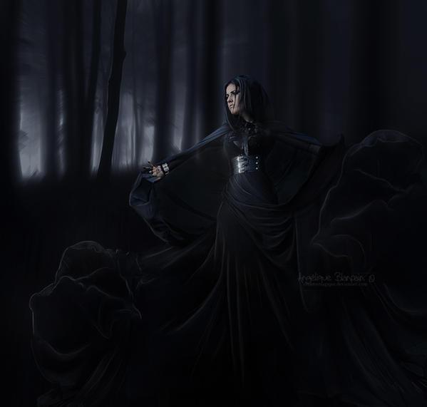Black widow by Creamydigital