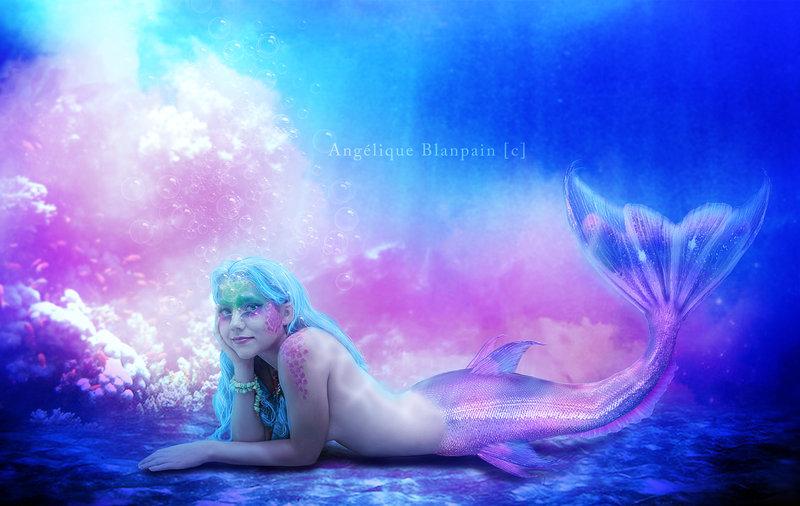 The little mermaid by Creamydigital