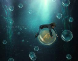 comme un poisson dans l'eau by Creamydigital