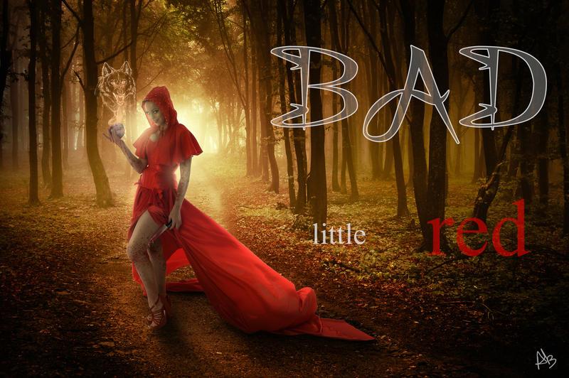 Bad little red wallpaper by Creamydigital