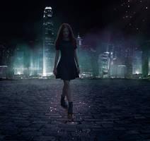 Magic light in magic night by Creamydigital