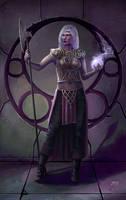 Dark Elf Mistress by juhamattipulkkinen