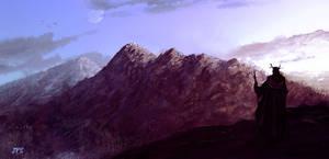 Mountainscape by juhamattipulkkinen