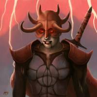 Blood Knight by juhamattipulkkinen