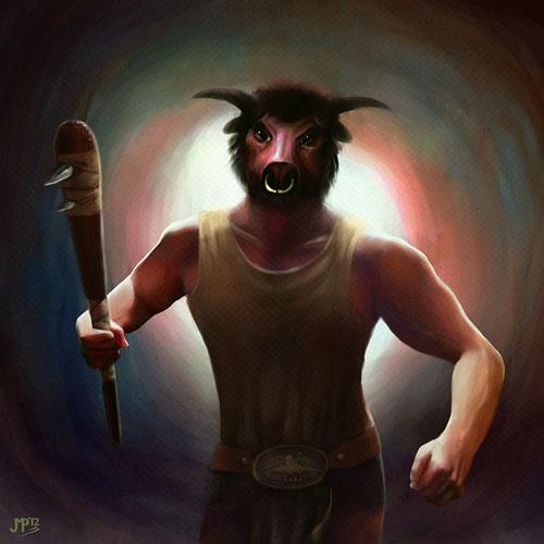 Minotaur by juhamattipulkkinen