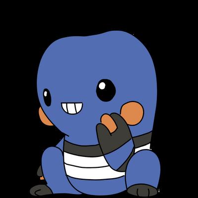 Favorite pokemon (fighting) - Croagunk by Cdinorawr