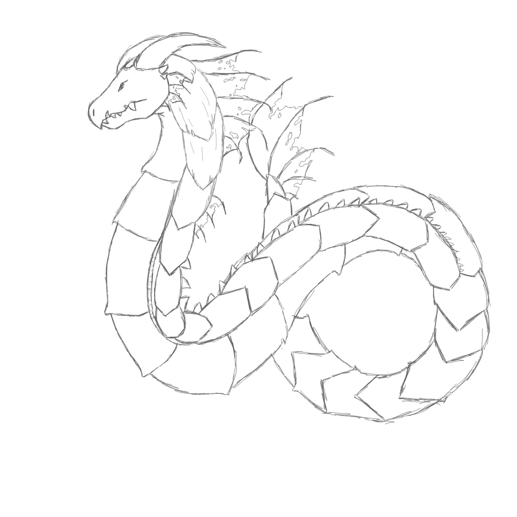 Adult Beauty Sea Serpent Coloring Pages Images beauty sea serpent coloring pages now sketch by cdinorawr images
