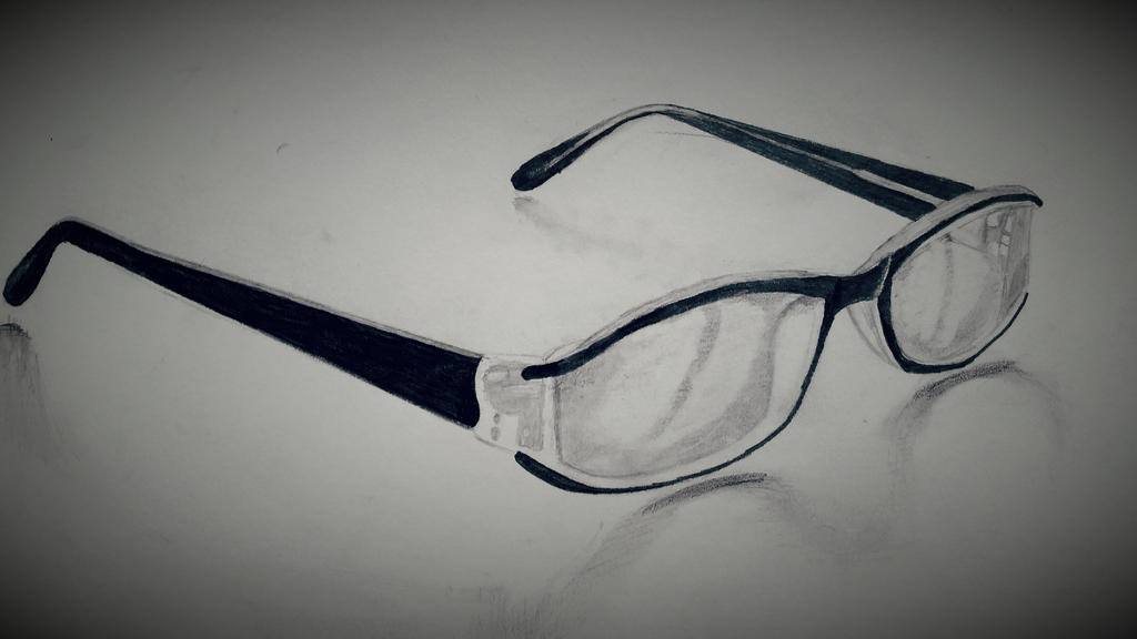 a89efaf970 Glasses Pencil Drawing. By Dubz002 On Deviantart