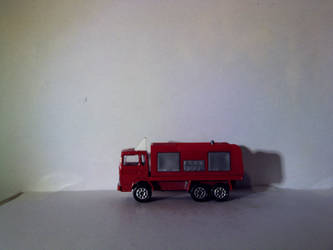 Majorette Fire Truck 1 Side by theoldhorse2